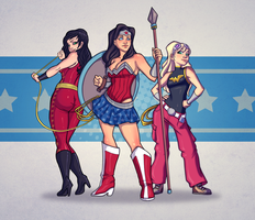 Wonder Trinity by AviKishundat