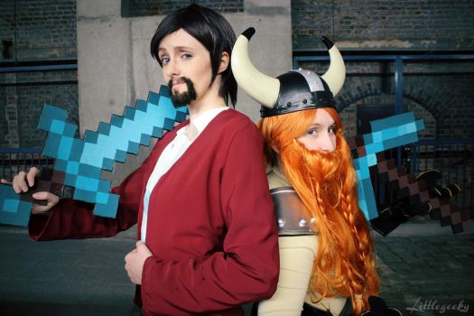Hello, and welcome to the Yogscast. by LittleGeeky