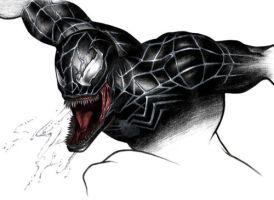 Venom - Spider-Man 3 by Fe-Spider