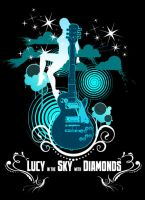Lucy in the sky with diamonds by superultimateomega