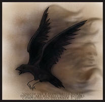 Quoth the Raven, 'Nevermore' by Untamed-Feline