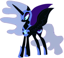 Nightmare Moon. by LostintheWriting