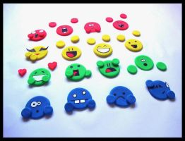 Playdoh Emotes by PurplegreenXD