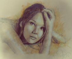 Jennifer Lawrence // Speed Art Samuel Romero by SamuelRomero