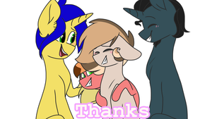 THANKS for the support by IAmAN00dle