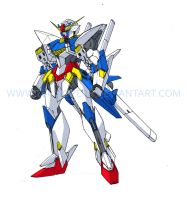 GV-01FB Crusader Gundam Full Blade by Tecmopery