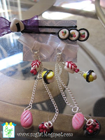 Sushi Earrings by SugiAi