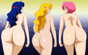 Pokemon Daisy Violet And Lilly Ass Nude by Mr123GOKU123