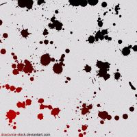 Blood Brushes ImagePack by Dracovina-Stock