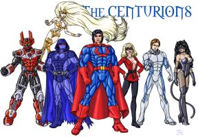 ULTRAMAN and the Centurions by InputJack