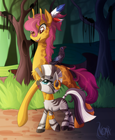 Giveaway Art: A stroll through the forest by TheNornOnTheGo