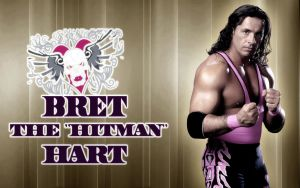 wwe,Bret The 'Hitman' Hart by Gogeta126