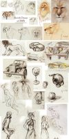 Sketch Dump from 2008 by snow-jemima