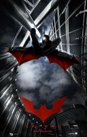 Batman Beyond Live Action Poster (Better Version) by MiniriFpomsiyu