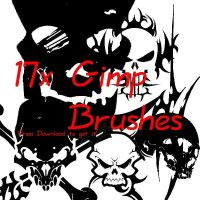 Free Gimp Brushes by FrenchTeilhard