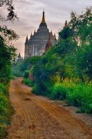 Early Morning In Bagan 1 by CitizenFresh