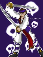 Red Roger crew - Bloomers by BillyBones0704