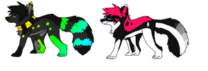 Scene/sparkle dogs-CLOSED- by Autumn-Adopts