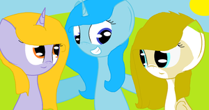Mlp Sisters Trio by FnafStephaniXBonnie