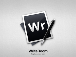 WriteRoom Replacement icon by Side-7