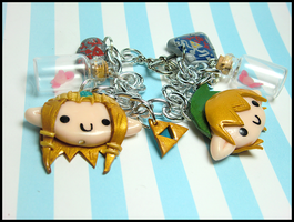 Legend of Zelda Bracelet by GrandmaThunderpants