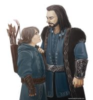 The Hobbit: An Unexpected Journey - Thorin x Kili by maXKennedy