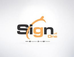 Sign1 logo by waelswid