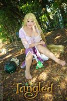 Rapunzel cosplay by Angel--Arwen