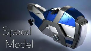 Hoverbike - Speed Model by curux