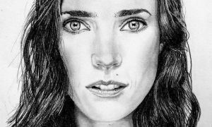 Jennifer Connelly close up 2 by Galbatore
