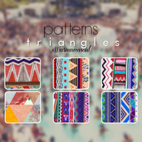 Patterns for triangles | xWarmnesssoul by xWarmnesssoul