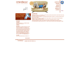 Interdecor website by plechi