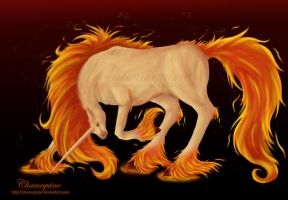 No. 078 Rapidash by Chamequine
