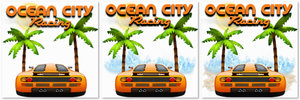 Ocean City Racing Icon Set by POOTERMAN