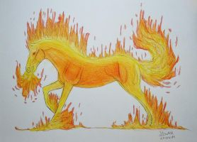 Fire Elemental by Salvada