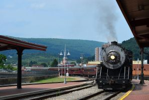 734 Cumberland Arrival by CSX5344