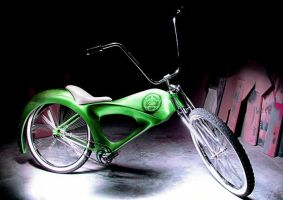 The Green Bike 2 by caesar1996