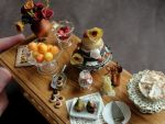 Dollhouse Dessert Table by fairchildart