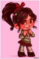 Vanellope - Sugar Rush by EddieHolly