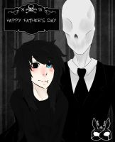 :ProxySpace: - Father's Day for slender by ProxyBunny