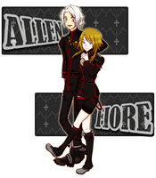 :COM: Allen and Fiore by CephiraOnamu