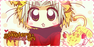 Gokudera Cute .sign by KiiluDoki