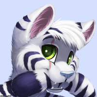 Larry The Tiger (headshot) by jamesfoxbr