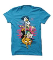 Adventure Time original fanart tee! by supertoki