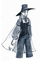 mystery guy by InkCell-Illustration