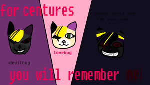 for centures you will remember ME! by lovebug28724