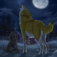 Teach me to Howl YCH SOLD by NatsumeWolf
