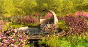 Spring Water Well by jbjdesigns