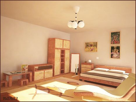 Bed Room 3 by Nadia-design