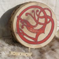Urnes Dragon Drum by Thorskegga
